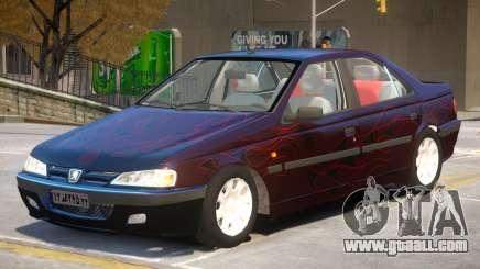 Peugeot Pars V1 PJ1 for GTA 4