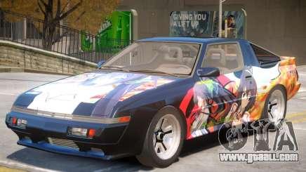 1986 Mitsubishi Starion PJ2 for GTA 4