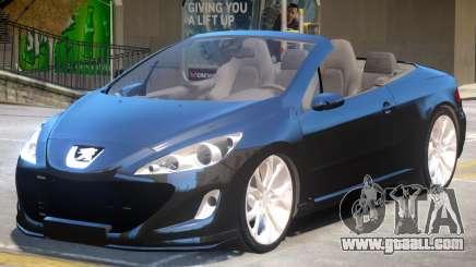 Peugeot 308 Cabrio for GTA 4
