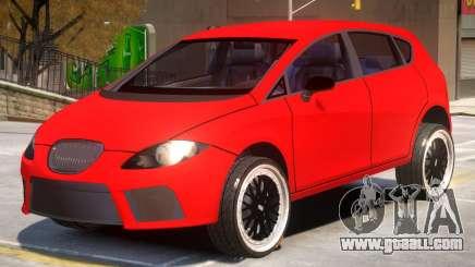 Seat Leon V1 for GTA 4