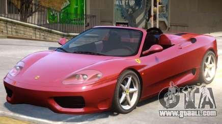 Ferrari 360 V1 for GTA 4