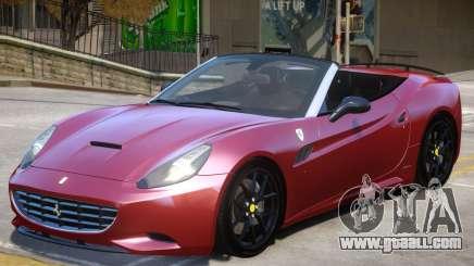 Ferrari California V1.2 for GTA 4