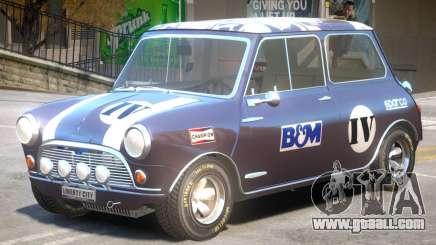 Mini Cooper V1 PJ3 for GTA 4