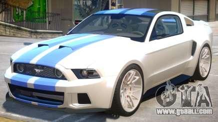 Ford Mustang GT V1.0 for GTA 4