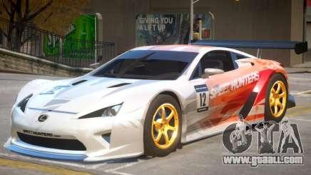 Lexus LFA V1 PJ for GTA 4