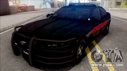 Dodge Charger LSSD Low Poly for GTA San Andreas