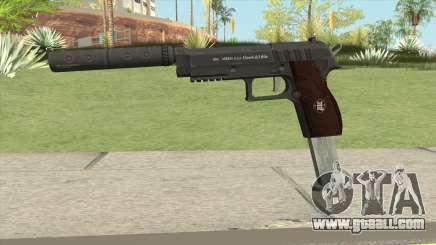 Hawk And Little Pistol GTA V Black (New Gen) V7 for GTA San Andreas
