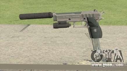Hawk And Little Pistol GTA V Black (Old Gen) V3 for GTA San Andreas