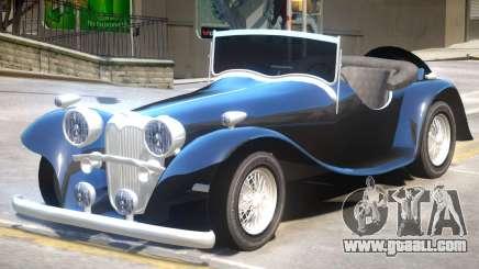 Jaguar SS100 V1 for GTA 4