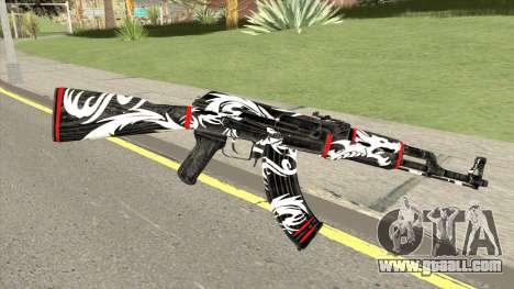 AK-47 Dragon for GTA San Andreas