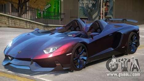 Aventador Roadster V1 for GTA 4