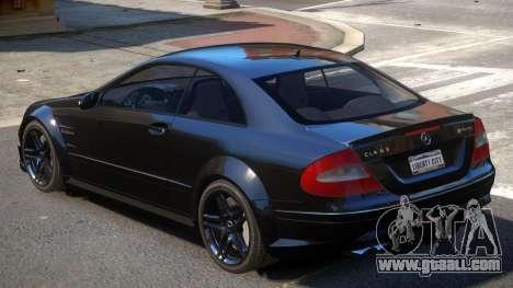 Mercedes CLK63 AMG V1 for GTA 4