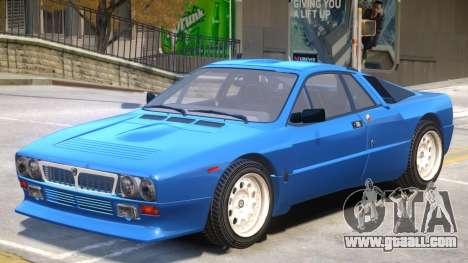 Lancia 037 V1.1 for GTA 4