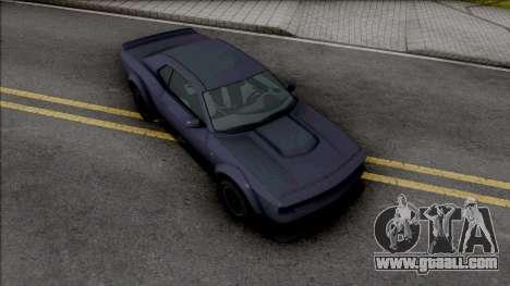 GTA V Bravado Gauntlet Hellfire for GTA San Andreas
