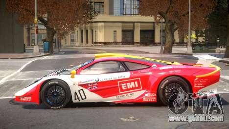 McLaren F1 V1.1 PJ1 for GTA 4