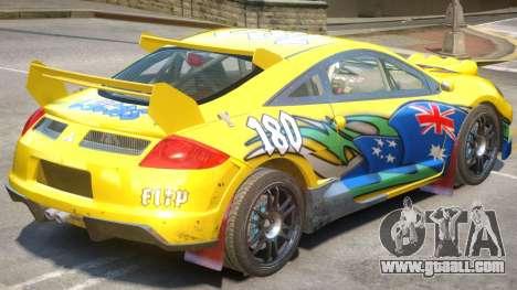 Mitsubishi Eclipse Rally PJ1 for GTA 4