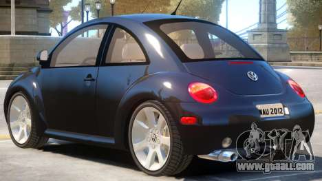 Volkswagen New Beetle V1 for GTA 4