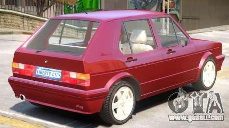 1998 Volkswagen Golf V1 for GTA 4