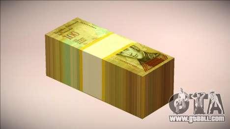 100 Classic Venezuelan Bolivar v.2.0 (enveloped) for GTA San Andreas