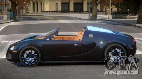 Bugatti Veyron Spider for GTA 4