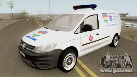 Volkswagen Caddy (Magyar Rendorseg) for GTA San Andreas