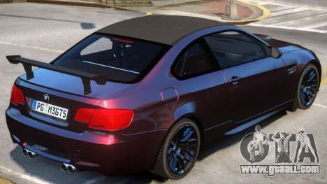 BMW M3 GT Sport for GTA 4