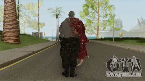 Mr X Super Tyrant Re2 Remake For Gta San Andreas