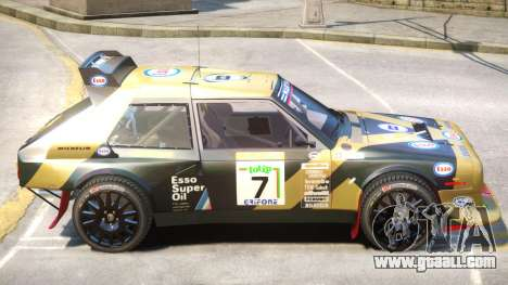 Lancia Delta Rally V1 PJ for GTA 4