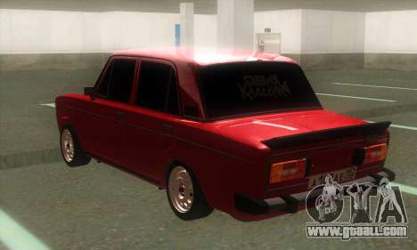 VAZ 2106 Classic Battle with toning for GTA San Andreas