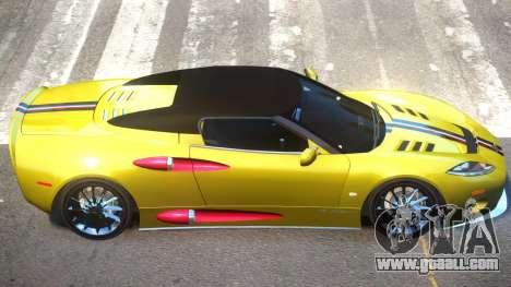 Spyker C8 V1.1 PJ1 for GTA 4