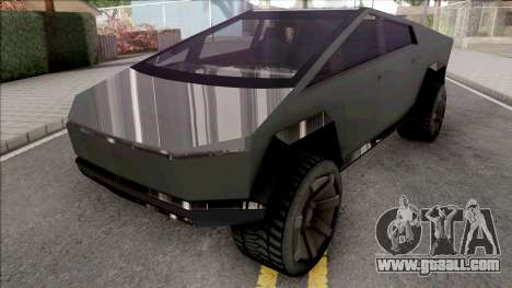Tesla Cybertruck 2020 Low Poly for GTA San Andreas