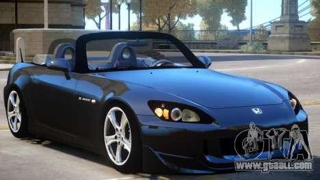 Honda S2000 Stock for GTA 4