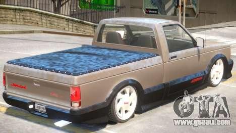 GMC Syclone V1 for GTA 4