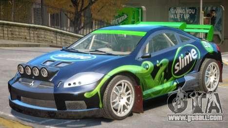 Mitsubishi Eclipse Rally PJ3 for GTA 4