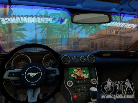 Ford Mustang GT Liberty Walk 2015 for GTA San Andreas