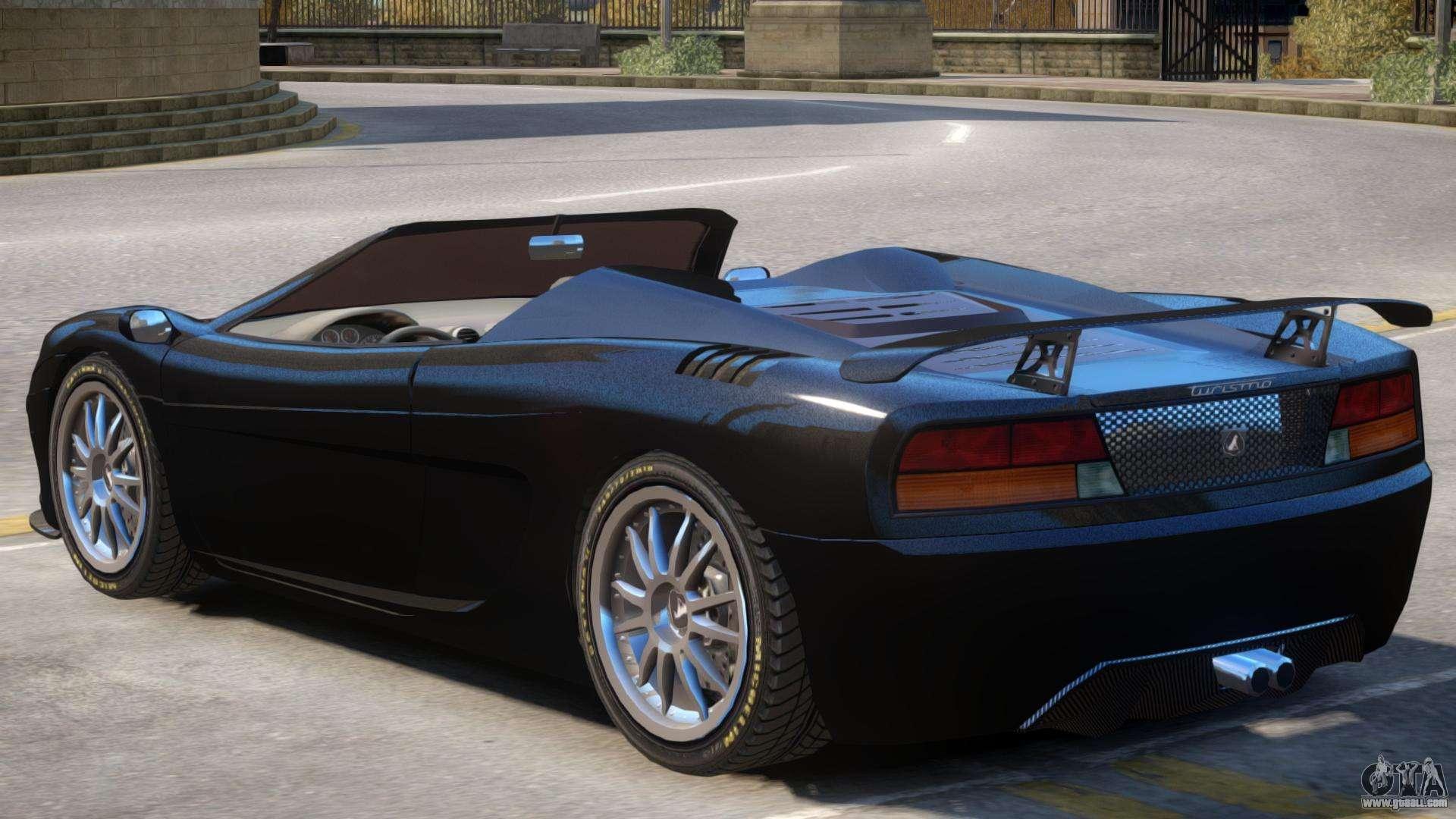 Grotti Turismo Roadster For GTA 4