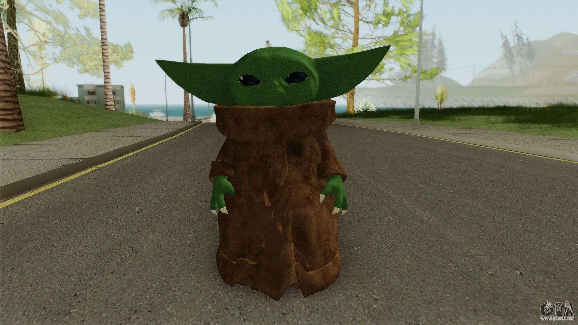 Baby Yoda For GTA San Andreas