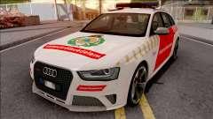Audi RS4 Avant Hungarian Fire Department for GTA San Andreas