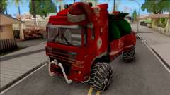 DAF XF Christmas Truck for GTA San Andreas