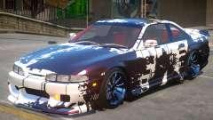 Nissan Silvia S14 V1 PJ2 for GTA 4