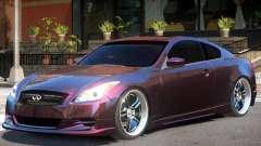 Infiniti G37 Sport for GTA 4