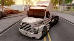 Scania 113H White for GTA San Andreas