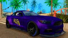 Ford Mustang GT Liberty Walk 2015 Purple for GTA San Andreas