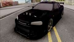 Nissan Skyline GT-R Tuning Bodykit for GTA San Andreas