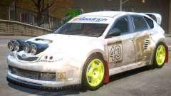 Subaru Impreza Drift V1 PJ6 for GTA 4