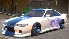 Nissan Silvia S14 V1 PJ3 for GTA 4