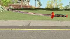 Red Katana for GTA San Andreas