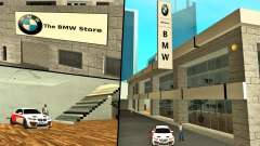 2019 BMW Showroom (BMW Store) for GTA San Andreas