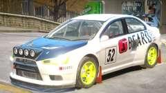 Lancer Evolution X V1 PJ5 for GTA 4