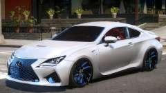 Lexus RC F V1 for GTA 4